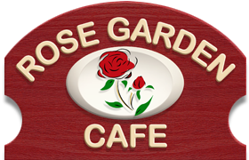 The Rose Garden Cafe restaurant logo