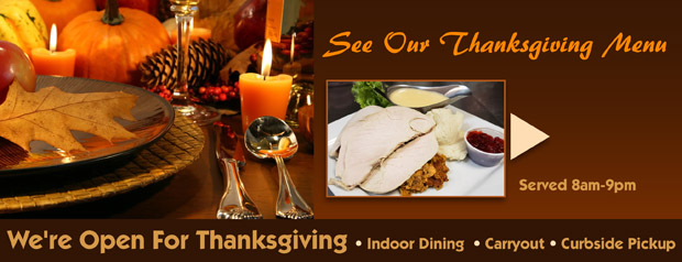 Link to our Thanksgiving menu